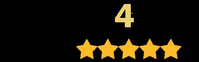 Логотип автосервиса Fix4Car