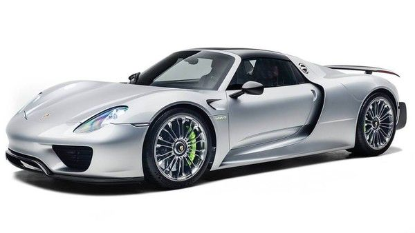 Ремонт Porsche 918